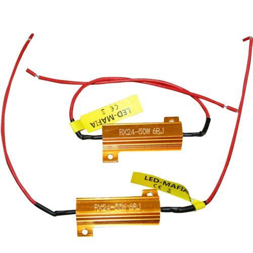 2 Résistance lastwiderstand potentiomètres voiture bay15d h1 h3 phares clignotants