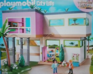 Playmobil Replacement Part 5574 Modern House Ebay