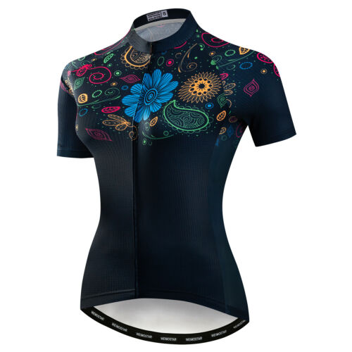 Cycling Jersey Women/'s Bike Top Shirt Short Sleeve MTB Clothing Bicycle Clothes