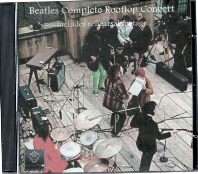 5Beatles Complete Rooftop Concert DVD and CD combo