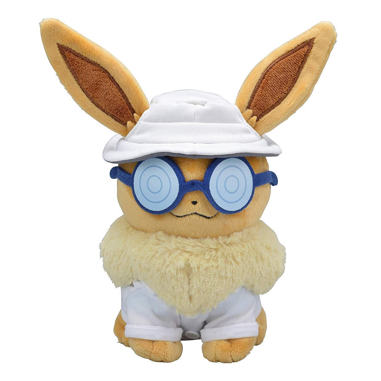 Pokemon Center Originale Bambola di Peluche Eevee  Assistente Wear Let's Go   negozi al dettaglio