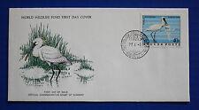 Hungary (2457) 1977 Birds - Spoonbill WWF FDC