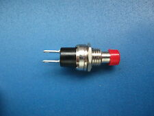 Miniatur-Taster Schließer PBS-10B-2 Rote Kappe