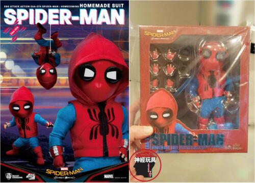 BEAST KINGDOM Egg Attack Action EAA-074 Spider-Man Homecoming Homemade Suit