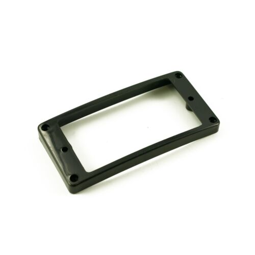 WD Music Humbucker Mounting Ring High Black Arched