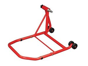 DUCATI 821 HYPERMOTARD 2014 SINGLE SIDED RED REAR PADDOCK STAND