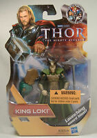 King Loki Sword Blast Thor The Mighty Avenger Movie Figure Mosc 2011 Very Rare