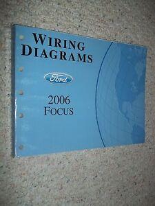 2006 FORD FOCUS EVTM Service Workshop Shop Repair Manual ...
