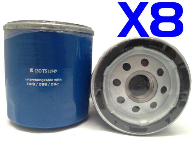 8X Oil Filter Suit Z418 HOLDEN LEXUS TOYOTA Avalon Camry Hiace Hilux Landcruiser