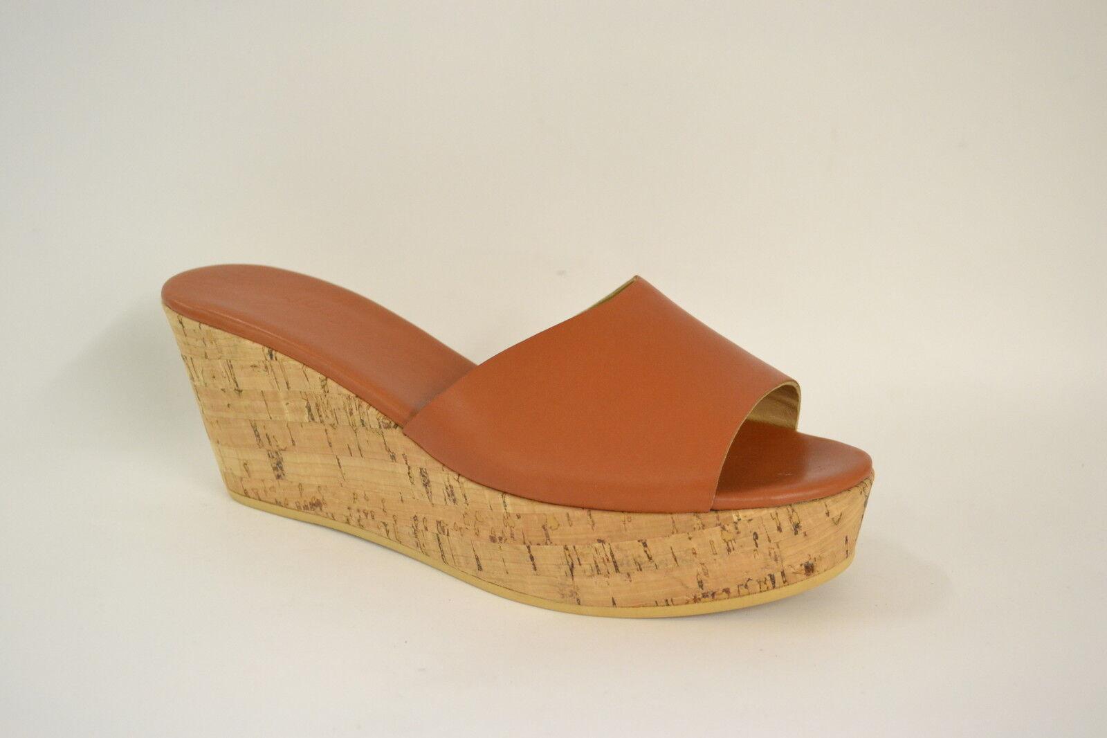 Schuhe SANDALI Damens ZEPPA SUGHERO VERA 38 39 40 VERA SUGHERO PELLE COL. CUOIO 2138a1
