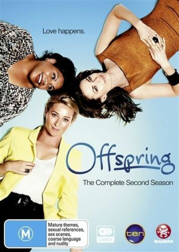 1 of 1 - Offspring : Series 2 (DVD, 2011, 4-Disc Set) NEW SEALED Region 4