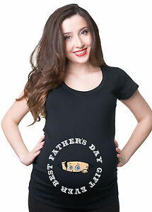 Father-039-s-Day-Gift-Pregnancy-T-shirt-Maternity-Gift-for-Daddy-New-baby-T-shirt