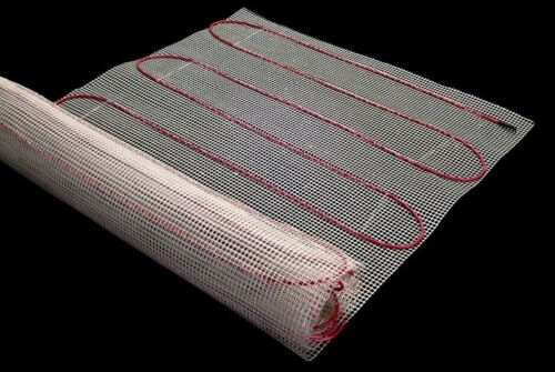 50 SQFT MAT 240V Electric Floor Heat Tile Radiant Warm Heated w// Digital Thermo