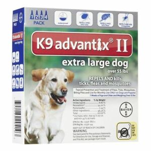 k9 advantix ii extra large dog 12 pack