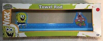 Spongebob Squarepants Towel Rod Nickelodeon Collectable Bathroom Decor Ebay