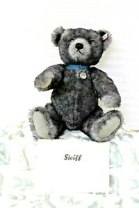 Steiff-Trademark-Bear-Alexander-Reproduction-593-1950-Growler-681325-Gray-Blue
