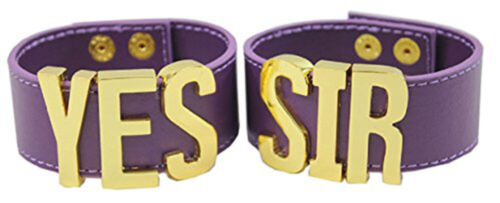 YES SIR Bracelet*2 Cuff Wristband Suicide Squad Harley Quinn PUDDIN Choker