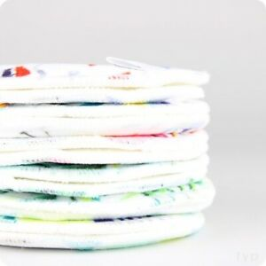 Reusable Washable Breast Pads for mums Bambooty Booby Nights Nursing Pads