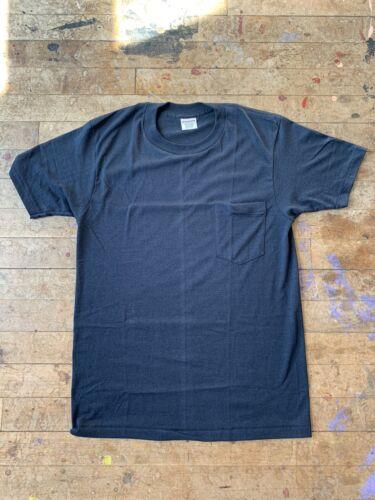 McGregor NOS Tshirt 50/50 Blend Black 1960's