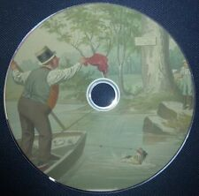 Fishing Angling Guide Trout Salmon Fish Coarse Angler 250 Vintage Books on DVD