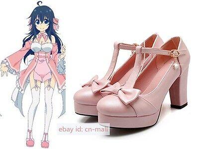 Netoge no Yome wa Onnanoko ja Nai to Omotta Ako High-heel Shoes Cosplay Custom