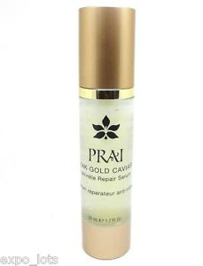 PRAI 24K GOLD CAVIAR Wrinkle Repair Serum 1.7 fl oz | eBay