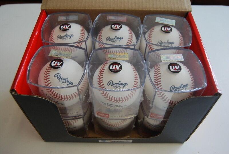 Dozen Rawlings ROMLBSTFL16 w cube Spring Training FL Baseball Official MLB ROMLB