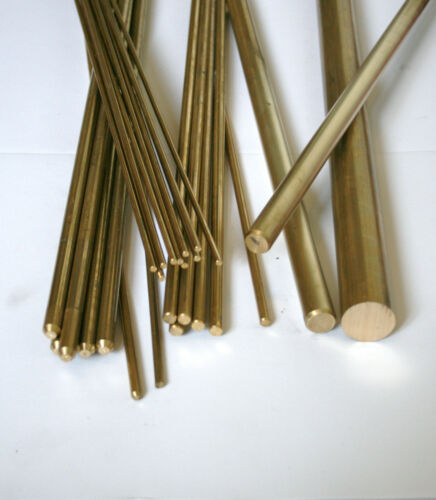 Various Lengths Available Brass Round Bar 2 mm