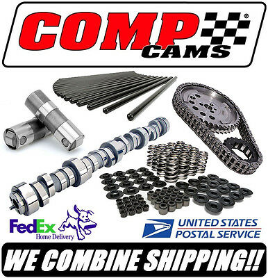 COMP Cams XFI XE-R GM LS LS1 LS2 LS6 Complete Roller Cam Kit 273/279, 581/588