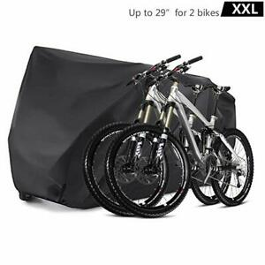 XXL-Bike-Cover-Durable-Bicycle-Cover-Waterproof-Outdoor-Protector-for-2-Bikes