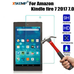 For-Kindle-Fire-7-HD-8-10-2017-Tempered-Glass-Tablet-Screen-Protector-Film-Cover