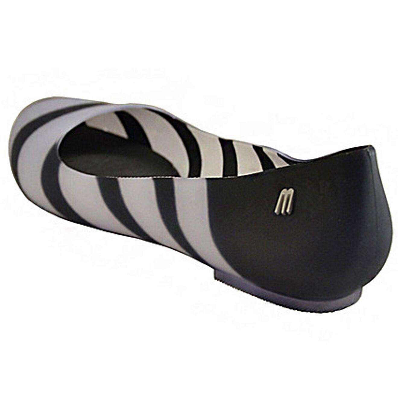 Melissa ballerine Divine optical righe, Divine optical striped, ballet flat