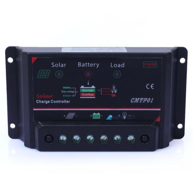 5A 12V LED Solar Panel Battery Regulator Charge Controller Safe Protection GL