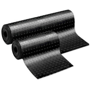 Tappeto-gomma-antiscivolo-nero-passatoia-rivestimento-pavimento-bolle-pedana-pvc