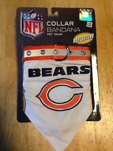 2f82cd7c424 Image is loading Chicago-Bears-Dog-Collar-Bandana-Large