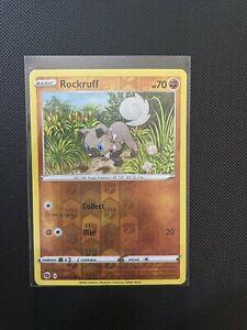 Pokémon TCG 029/073 Rockruff Reverse Holo Champions Path Pack Fresh