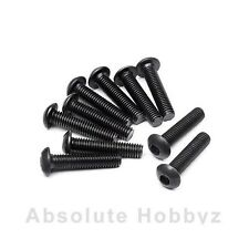 Agama Racing 3x16mm Button Head Screw (10) - AGMSIG4316