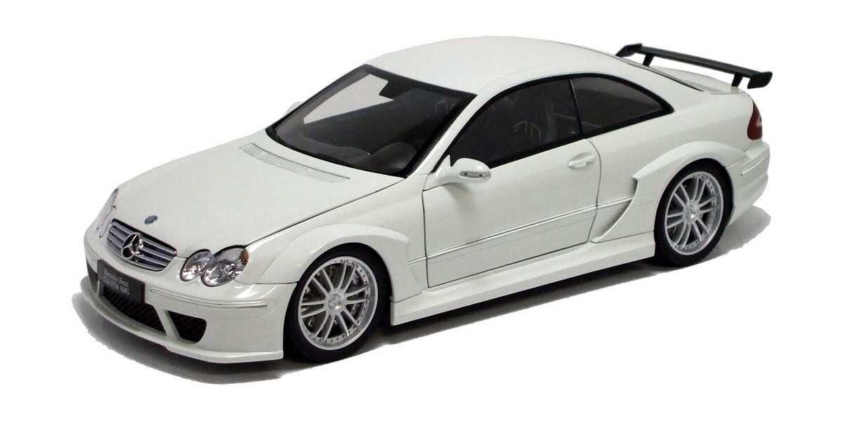 1/18 Kyosho Mercedes Benz CLK DTM AMG Coupe Diecast Model Car bianca C08461W