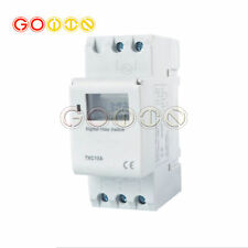 Thc15a Din Rail Mounting Digital Programmable Timer Switch Dc 12vac 110 220v