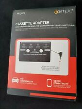 iSimple MJ38IS Headphone Jack to Cassette Adapter