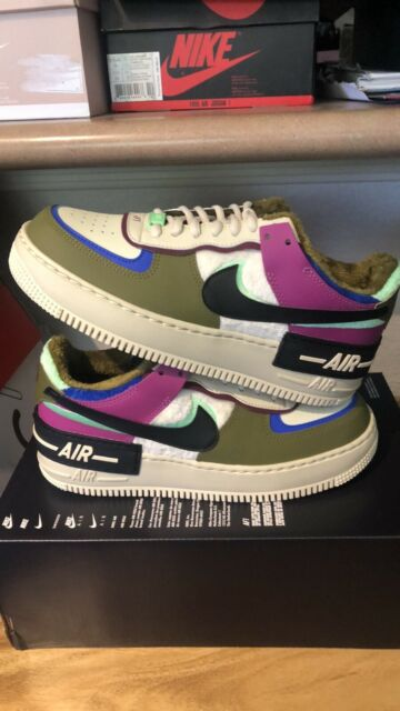 Size 8.5 - Nike Air Force 1 Shadow SE Cactus Flower 2020 for sale ...