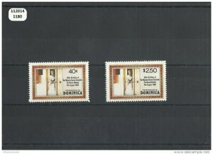 112014/1180 - Dominique 1980 - Yt N° 656/657 ** (mnh) Luxe