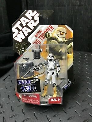 STAR WARS TAC 30TH ANNIVERSARY 3.75 IMPERIAL EVO TROOPER 2008 #9 FORCE UNLEASHED