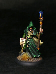 Painted-Miniature-Reaper-Wizard-Mage-Necromancer-Warlock-for-D-amp-D-Pathfinder