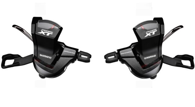 Shimano XT SL-M8000 Shift Lever Set Front//Rear w// Cable 2//3x11 Speed
