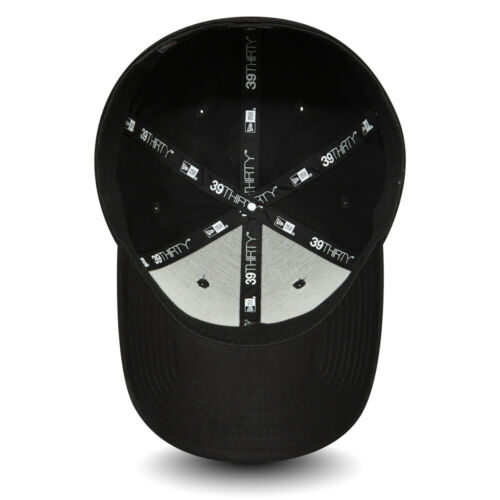 REDUCED.NEW ERA 39THIRTY BASEBALL CAP.LA DODGERS BLACK STRETCH COTTON HAT 9W2