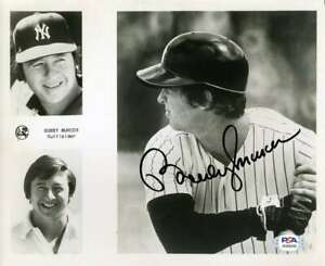 Bobby-Murcer-PSA-DNA-Coa-Hand-Signed-8x10-Photo-Autograph