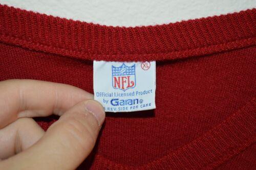 Redskins 80 V Nfl Taille Années Col Années XL True En Washington Pull Acrylique Vintage hommess 70 yY6gvfb7