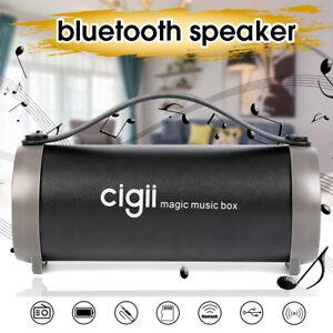 Sans fil Portable Super Bass Haut-parleur Bluetooth stéréo radio hifi FM TF AUX ☆