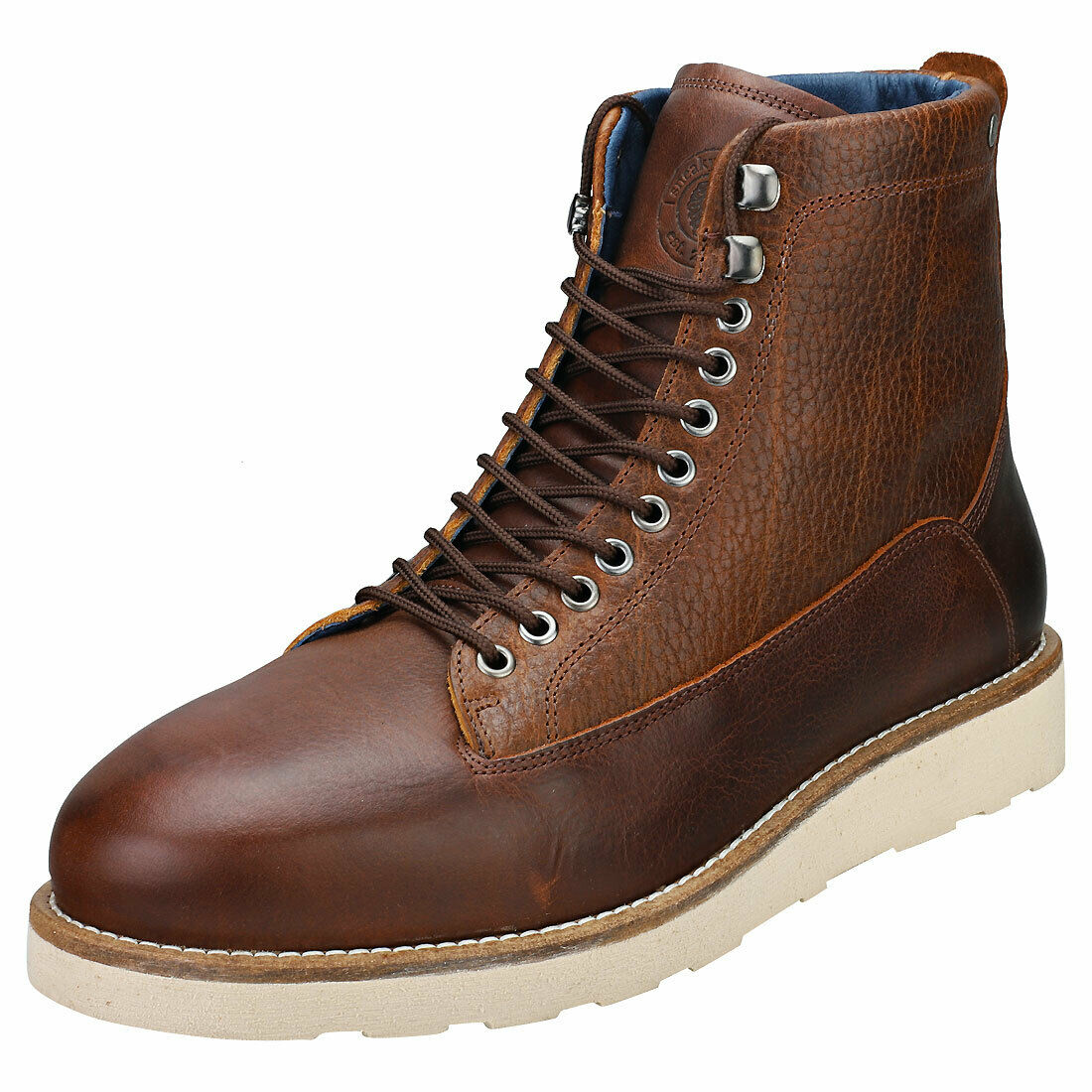 Sneaky Steve Quick Mens Cognac Leather Chukka Boots